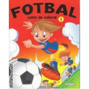 Fotbal carte de colorat 1