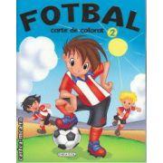 Fotbal carte de colorat 2