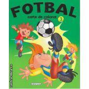 Fotbal carte de colorat 3