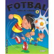 Fotbal Carte de colorat 4