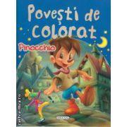 Povesti de colorat Pinocchio