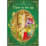 Colorez cele mai frumoase povesti Capra cu trei iezi
