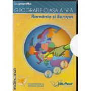 Geografie clasa a IV a Romania si Europa