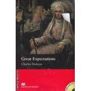 Great expectations - Level 6 Upper + CD ( editura: Macmillan, autor: Charles Dickens, ISBN 9781405076821 )