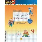 Caiet special foarte bine matematica semestrul 1 clasa I