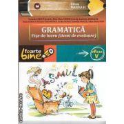 Gramatica fise de lucru  clasa a 5-a