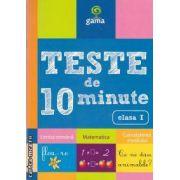 Teste de 10 minute Limba romana Matematica Cunoasterea mediului clasa a I-a