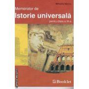 Memorator de Istorie universala pentru clasa a IX-a