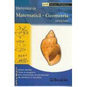 Memorator de Matematica- Geometria pentru liceu