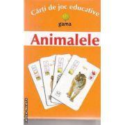 Animalele Carti de joc educative
