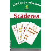 Scaderea Carti de joc educative