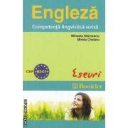 Engleza- Competenta lingvistica scrisa Eseuri