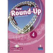 New Round-Up 4 Student's book with CD-Rom(editura Longman, autori:Virginia Evans, Jenny Dooley isbn: 978-1-4082-3497-6)