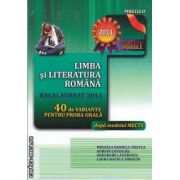 Limba si literatura romana Bacalaureat 2011   40 de variante pentru proba orala