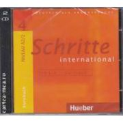 Schritte 4 international niveau A2/2 CD1+2 Kursbuch