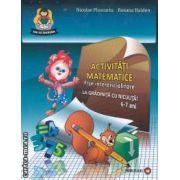 Activitati matematice La gradinita cu Niculita 6-7 ani set