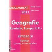 Geografie (Romania, Europa, U.E.) Bacalaureat 2011