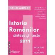 Istoria Romanilor sinteze si teste Bacalaureat  2011