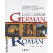 Dictionar German-Roman vol1 de la A la K + vol II de la L la Z