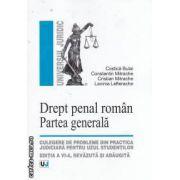 Drept penal roman Partea generala editia a VI-a Bulai