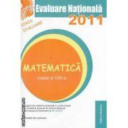 Evaluare Nationala 2011 Matematica  clasa a VIII-a