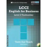 LCCI English for Business Level 2 Testbuilder with CD
