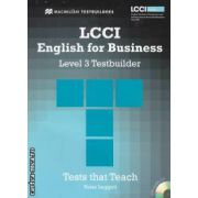 LCCI English for Business Level 3 Testbuilder with CD