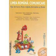 Limba romana.Comunicare.Fise de lucru clasa a VIII-a