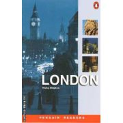 LONDON Level 2 Elementary(editura Longman, autor:Vicky Shipton isbn:1-405-83351-3)