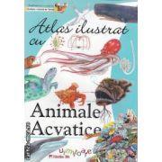 Atlas ilustrat cu Animale Acvatice