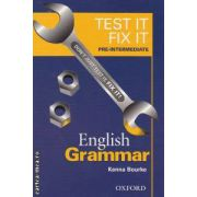TEST IT FIX IT PRE-INTERMEDIATE English Grammar