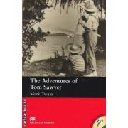 The Adventures of Tom Sawyer Level 2 Beginner with audio CD ( editura: Macmillan, autor: Mark Twain, ISBN 978-1-4050-7608-1 )