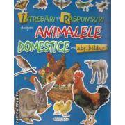 Intrebari si raspunsuri despre ANIMALE DOMESTICE cu abtibilduri