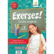 Exersez! Limba engleza in 3 saptamani clasa a III-a