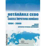 HOTARARILE CEDO IN CAUZELE IMPOTRIVA ROMANIEI 1994-2009 vol I II III IV V