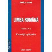 LIMBA ROMANA clasa a V-a Exercitii aplicative