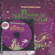Povesti de ascultat si colorat Povestea lui Harap-Alb +CD cadou