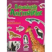 Uimitoarea carte despre Recordurile Animalelor cu multe abtibilduri