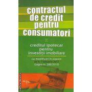 Contractul de credit pentru consumatori