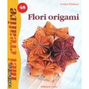 Idei creative Flori origami  nr 48