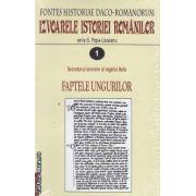 IZVOARELE ISTORIEI ROMANILOR VOL I, II, III, IV