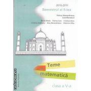 Teme de matematica clasa a V-a semestrul II 2010-2011