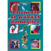 Animale si pasari domestice carte de colorat