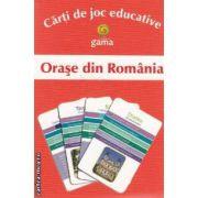 Orase din Romania Carti de joc educative