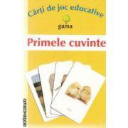 Primele cuvinte Carti de joc educative