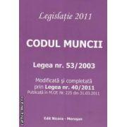 Codul muncii 2011 legea nr 53/2003