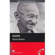 Gandhi level 4 pre intermediate ( editura: Macmillan, autor: Rachel Bladon, ISBN 978-0-2304-0838-8 )