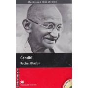 Gandhi level 4 pre intermediate with audio CD ( editura: Macmillan, autor: Rachel Bladon, ISBN 978-0-2304-0869-2 )