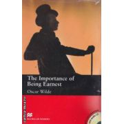 The importance of being earnest with audio CD - level 6 upper intermediate ( editura: Macmillan, autor: Oscar Wilde, ISBN 978-0-2304-0868-5 )