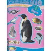 Animale din mare cu jocuri si abtibilduri